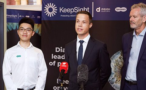 KeepSight attracts thousands of optometrists