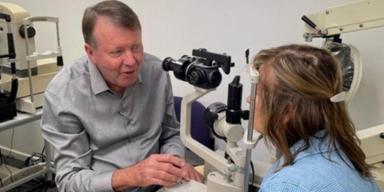 Eyes to the Skies – The Flying Optometrist, Geoffrey Fitzpatrick