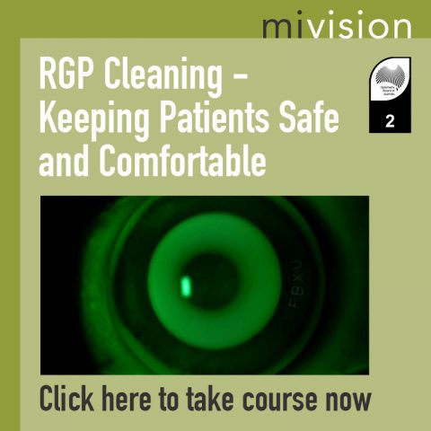 RGP Cleaning: Keeping Patients Safe and Comfortable
