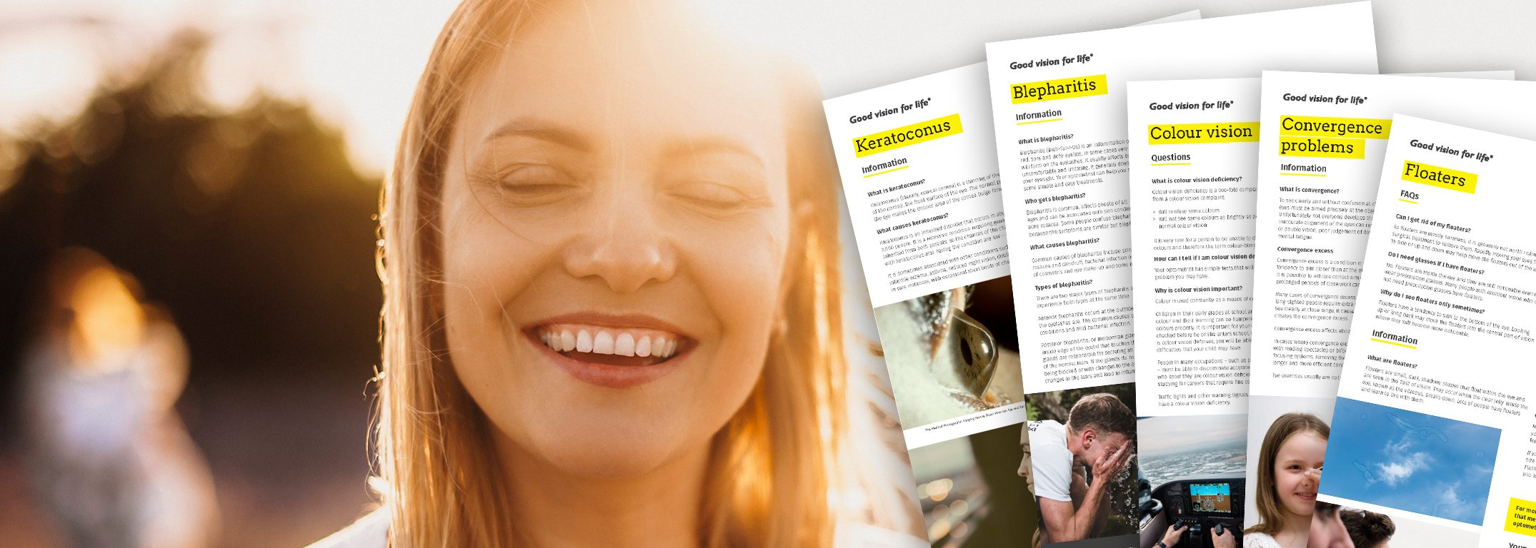 Patient brochures, forms & eye charts