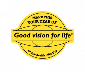 Make This Your Year of Good Vision For Life badge