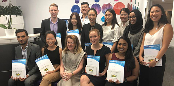 Applications open for the 2020 Optometry Australia Student Leadership Program