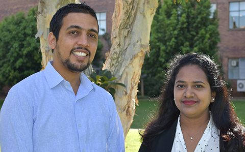 Pair receive Ezell Fellowships