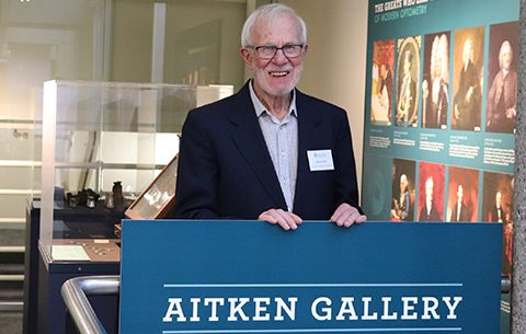 Aitken optometry gallery opens