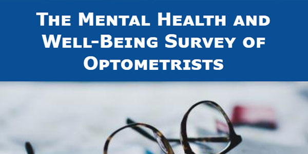 Optometrists urged to do mental health and well-being survey