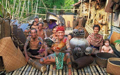 Optometry study tour to Borneo to visit traditional longhouses and cataract clinics