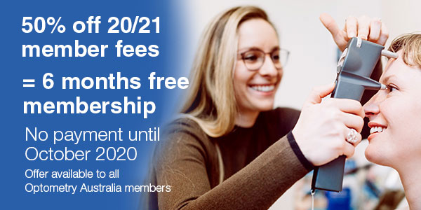 Membership fees for 2020/21 reduced to ease financial burden on optometrists