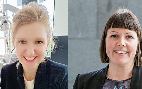 LOOK! Shelley and Nicola win our inaugural scholarships to help advance optometry