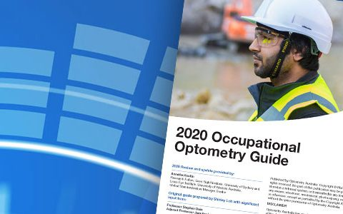 Occupational optometry/safety eyewear guide for members to help prevent eye injuries