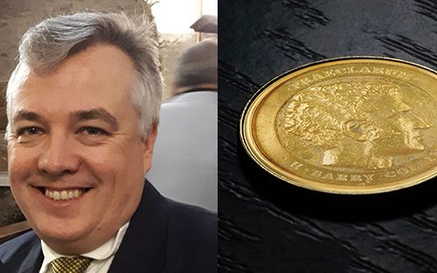 Konrad Pesudovs awarded 2020 Collin medal for outstanding contributions to vision research