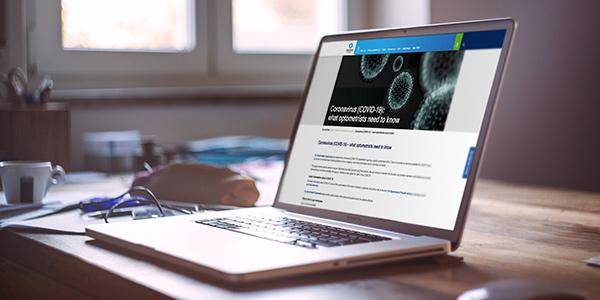 COVID-19 resource hub now online on Optometry Australia website