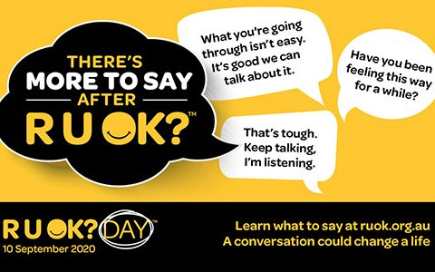 Free mental health resources for members launched on R U OK? Day 2020