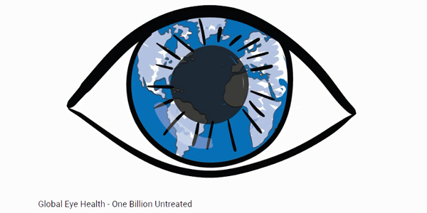 Global report calls for new definition of eye health as 1.1 billion have untreated vision impairment