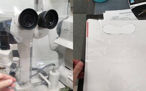 Use of slit lamp breath shields increased nearly six-fold during pandemic, e-poster in virtual poster room at OVC reveals