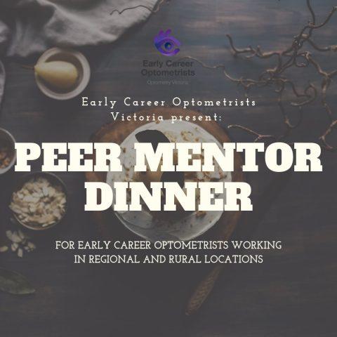 ECOV's Peer Mentoring Dinner – Ballarat