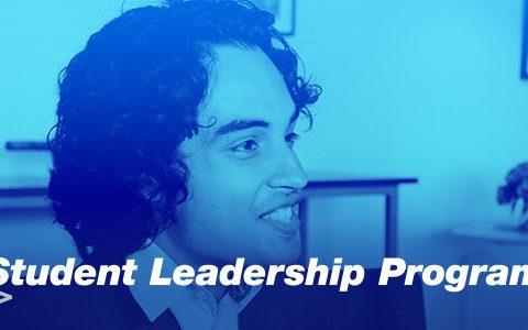 Applications open: 2022 Student Leadership Program
