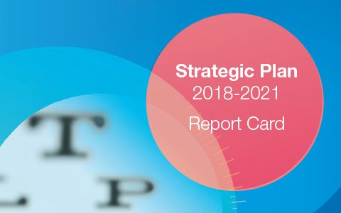 Three-year report card highlights focus on members