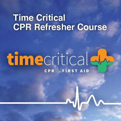 CPR Course with Time Critical – Sunday 29th November 2020