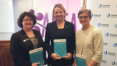 (L-R) Tracy Aylen - Sussan Ley - Joanne Ramadge - online