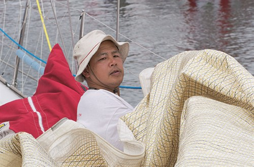 Albert Lee sailing crop