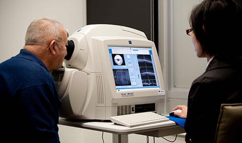 Centre for Eye Health study - online