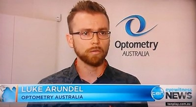 Channel 10 News 20 Feb 2016 Luke Arundel