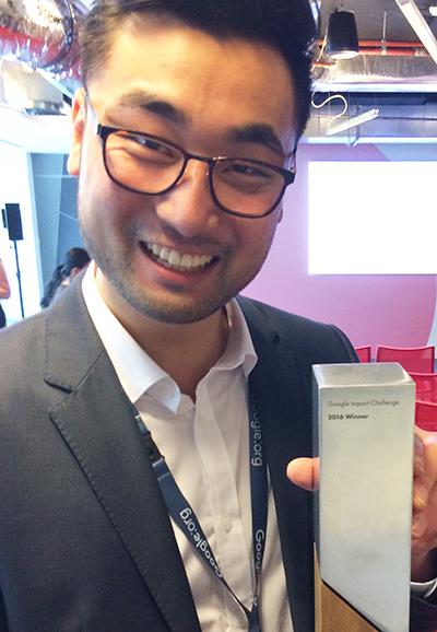Dr Will Yan Google award - online