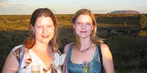 Katrina Schmid (L) Leisa Schmid (R) - online