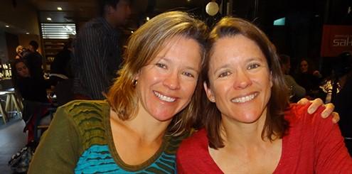 Louise Winkler (L) Kerrie Stevenson (R) - online