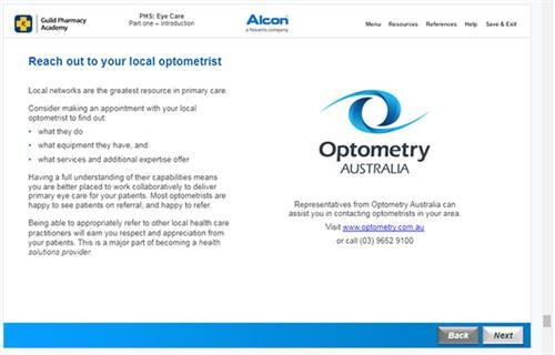 Pharmacy course - Screen shot 2 - online