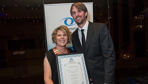Presidents - Melinda Toomey and Dr Stephen Vincent - online