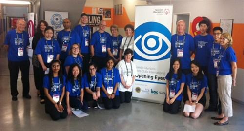 Special Olympics Optometrist Team
