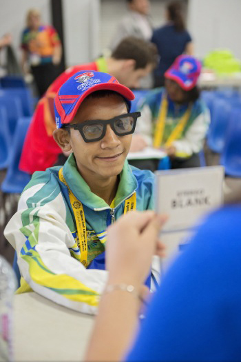 Special Olympics Patient 2