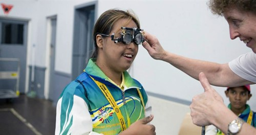 Special Olympics Patient 3 And Susan Walton
