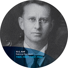 William G Kett