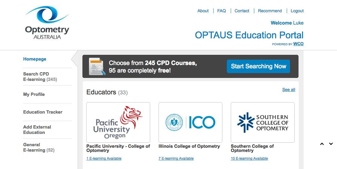 Optometry Australia launches OPTAUS Education Portal ...